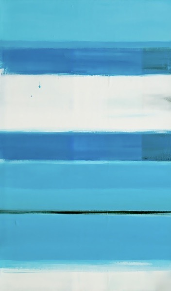 Little Blue / 13.77 x 27.55 in (35 x 70 cm) Private Collection of Architect Francisco Icaza (Mexico)