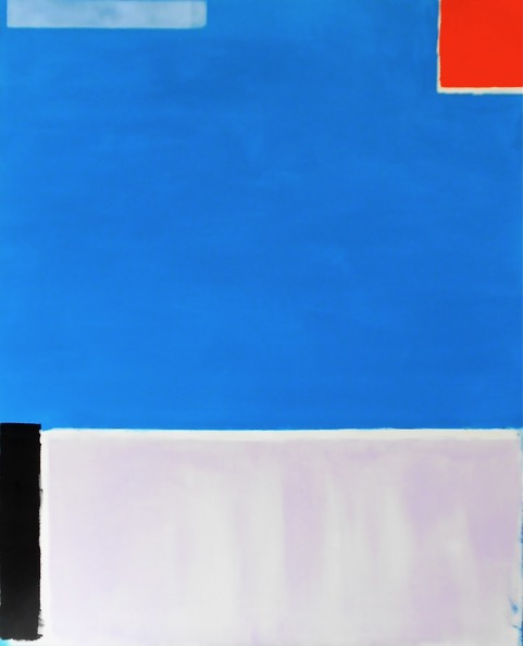 Arquitectura Azul / 39.37 x 31.49 in (100 x 80 cm)