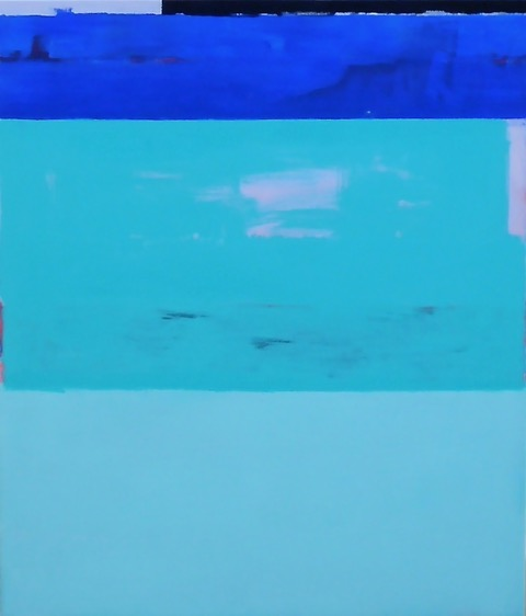 Ocean Green / 19.68 x 27.55 in (50 x 70 cm) Private Collection of Patrick Hampel (Berlin)