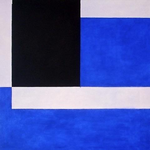 Blue 01 / 23.62 x 23.62 in (50 x 60 cm)