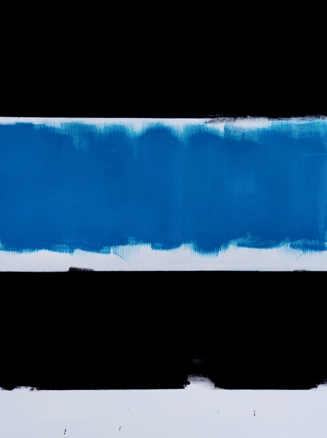 Alpha Blue / 23.62 x 31.49 in (60 x 80 cm)